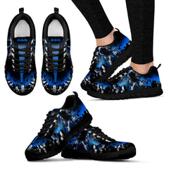 Express Delivery - Batman Thin Blue Line Sneakers