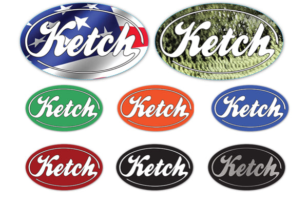 Ketch Sticker