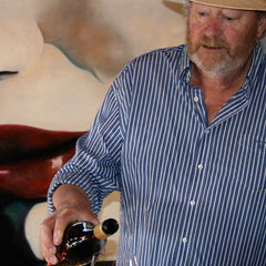 Meet Peter Gibson vineyard owner at Word of Mouth Wines