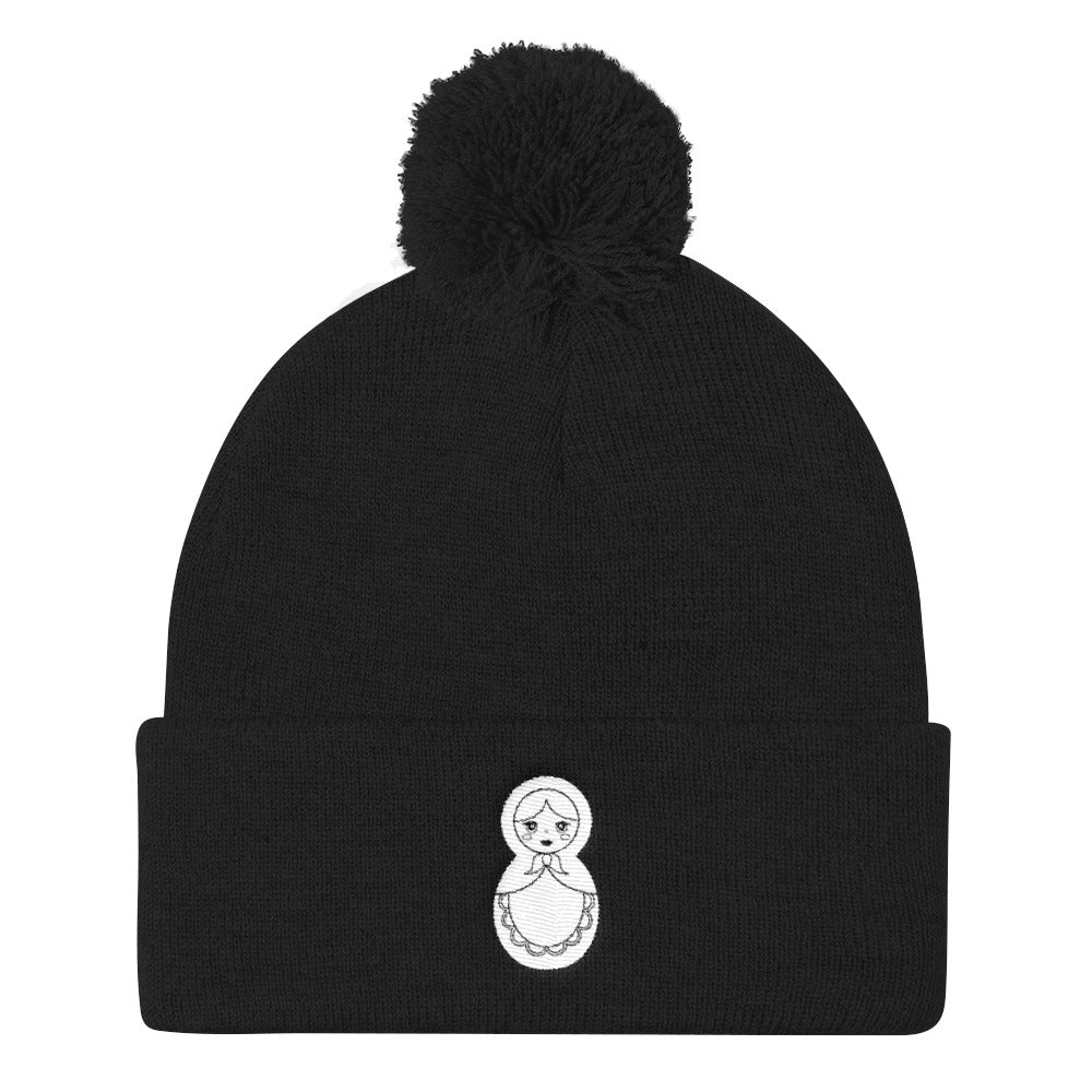 DOLL Pom Pom Knit Toque