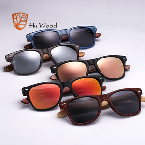 HU WOOD Pra W/ Cherry Wood Frames & HD Lenses