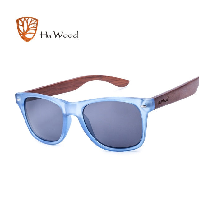 HU WOOD Pra W/ Clear Frame & HD Lenses