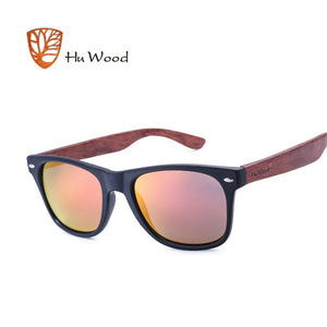 HU WOOD Pra W/ Red tint HD Lenses