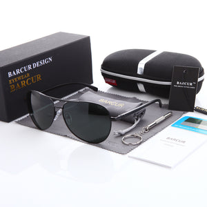 BARCUR Aviators w/ case & kit