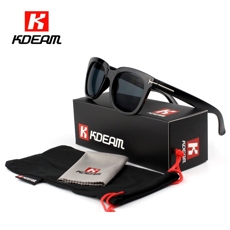 Kdeam Zonnebril Sunglasses W/ Case