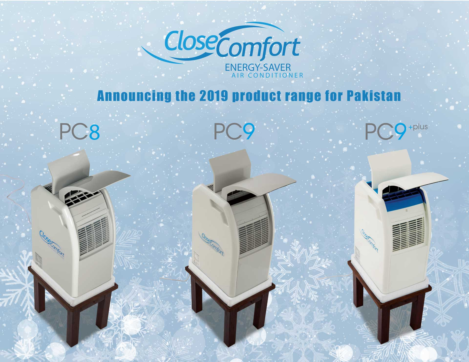 Close Comfort energy saving portable air conditioners