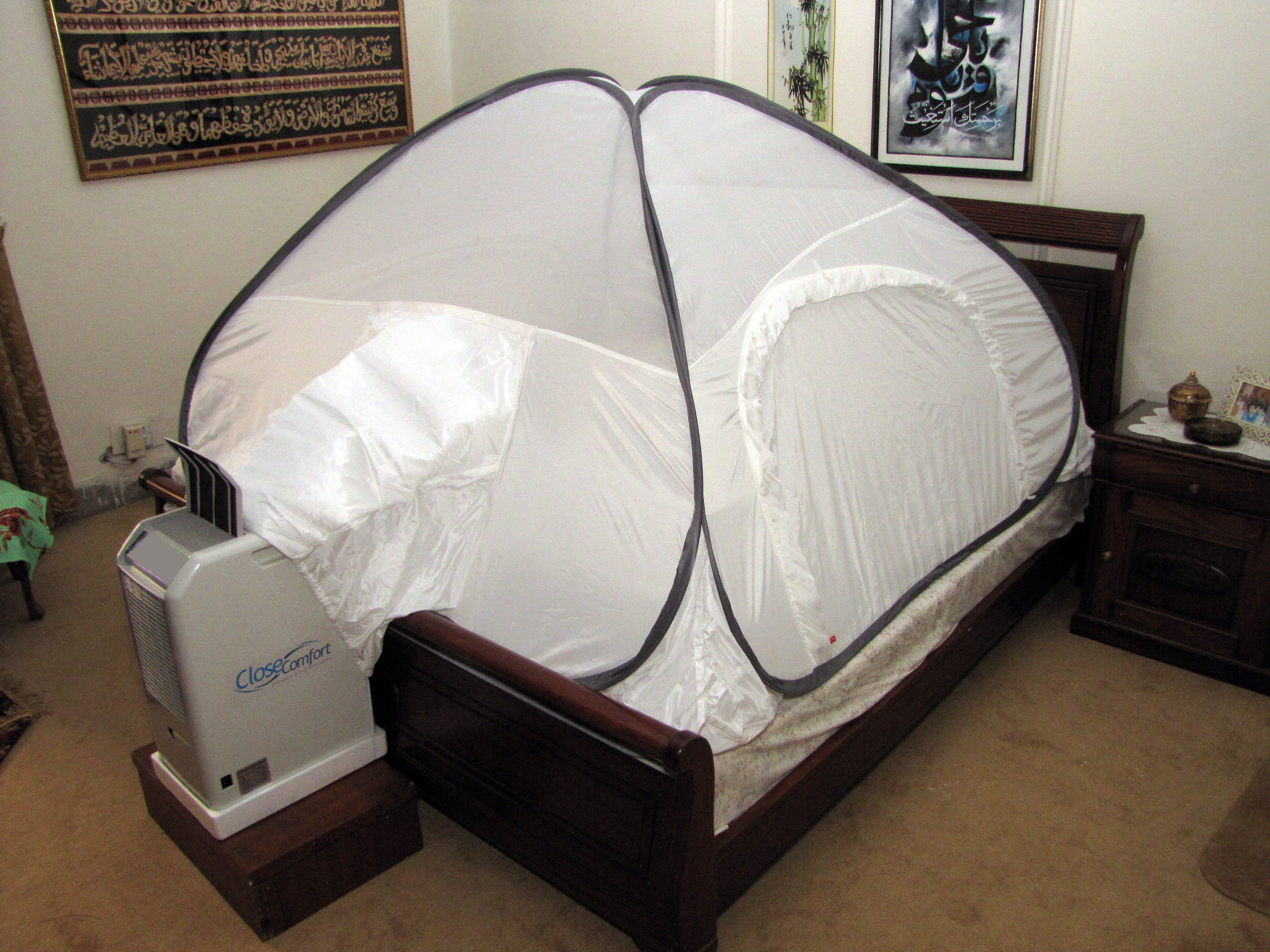 Energy-Saver PC8 Air Conditioner with Free Pyramid Tent