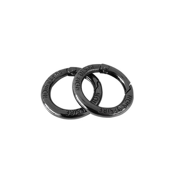Open rings 2 stk. - Hiblack