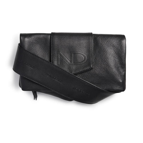 ND folded bag - m. justerbar logo læderrem