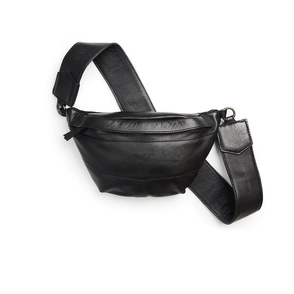 ND bumbag bag - m. logo rem læder