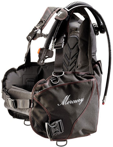IST J‑1700 Mercury Buoyancy Control Device (BCD) with Weight Pockets