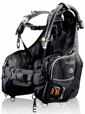 J-1000 ALPHA Premium Jacket Style BCD with Personal Harness System