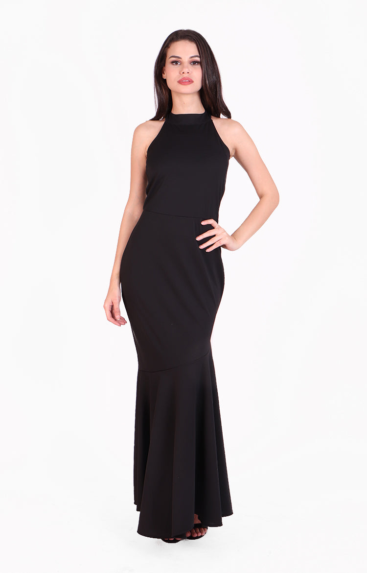 Kaycee Gown in Black
