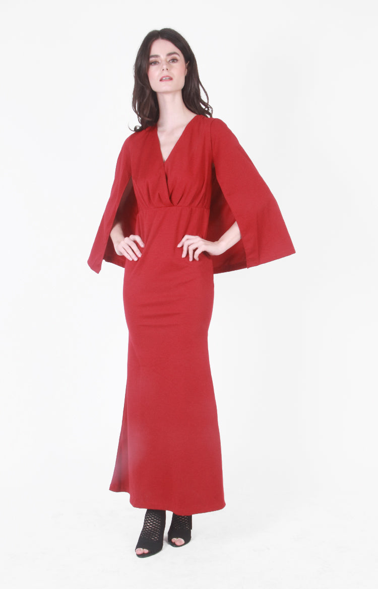 Pia Gown In Red