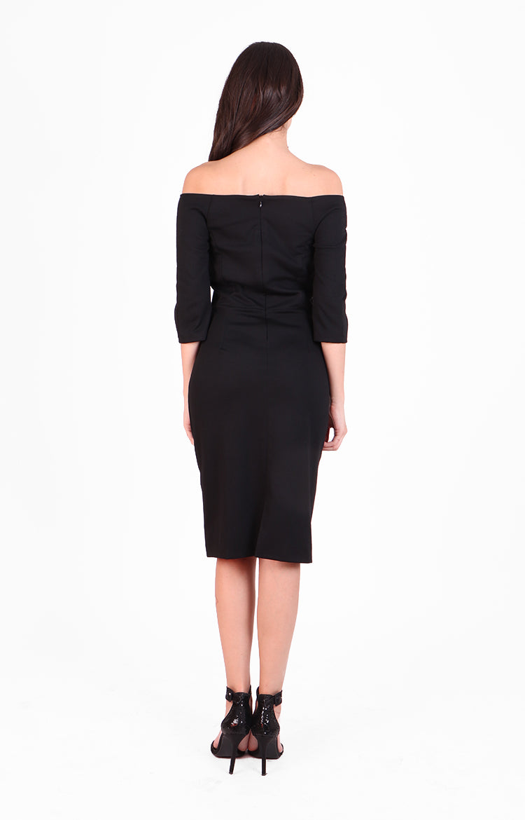 Giovanna Dress in Black