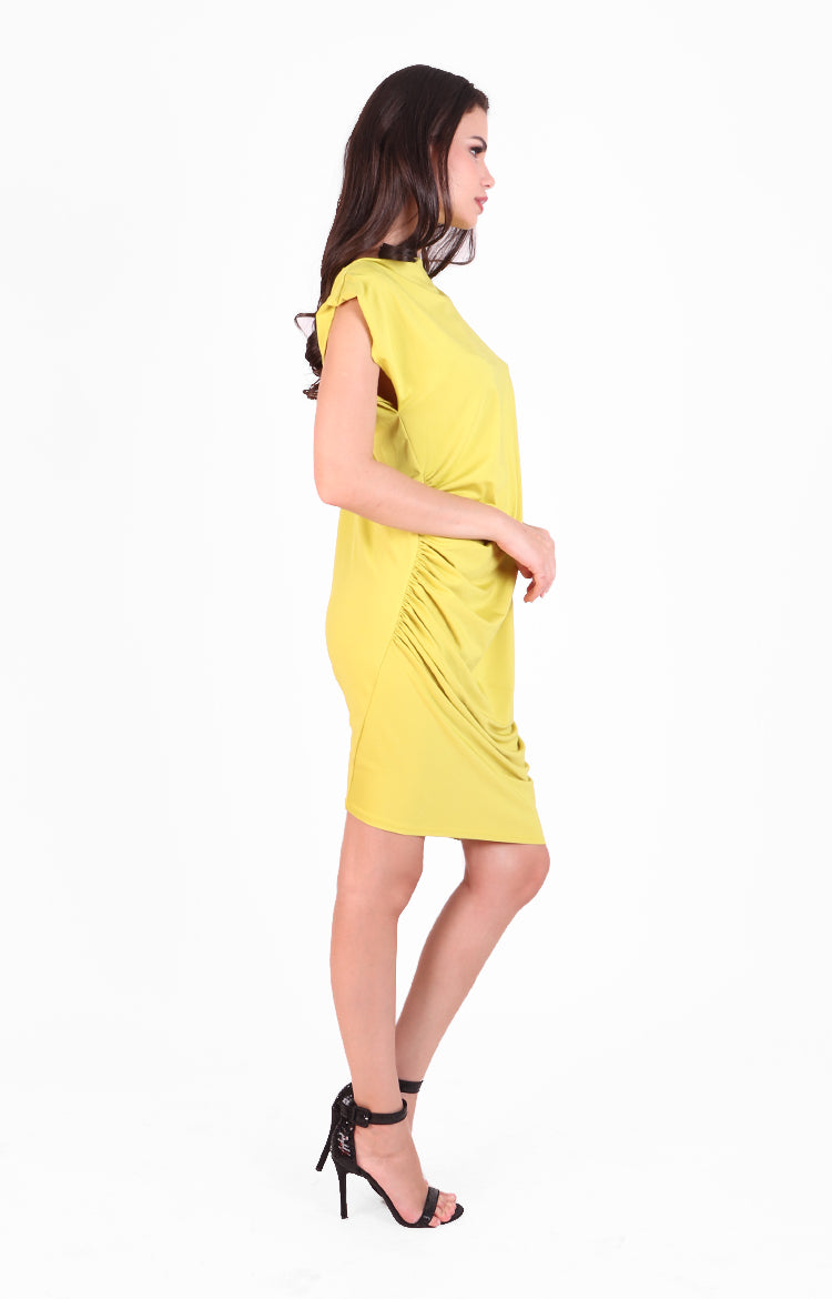 Kat Dress in Yellow