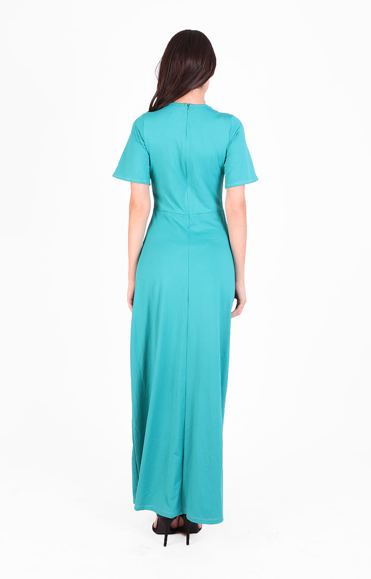 Jasmine Maxi Dress in Teal