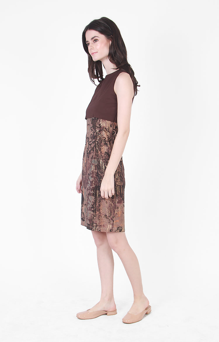 Bali Dress In Brown