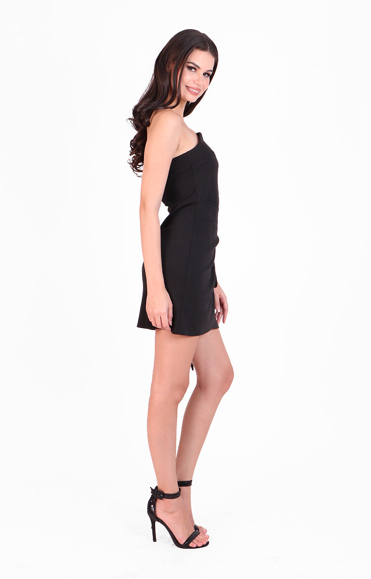 Ivana Dress in Black