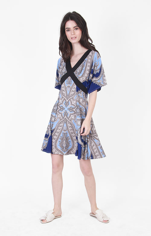 Cammi Dress in Blue