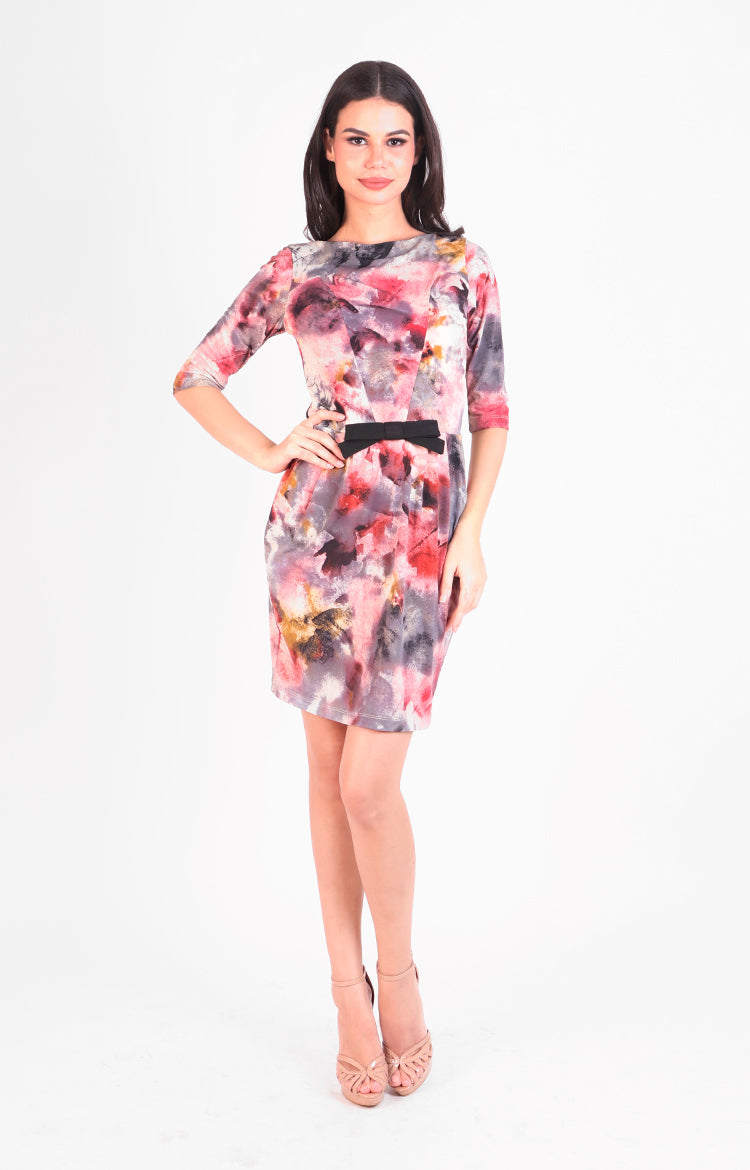 Audrey Dress in Multi Print