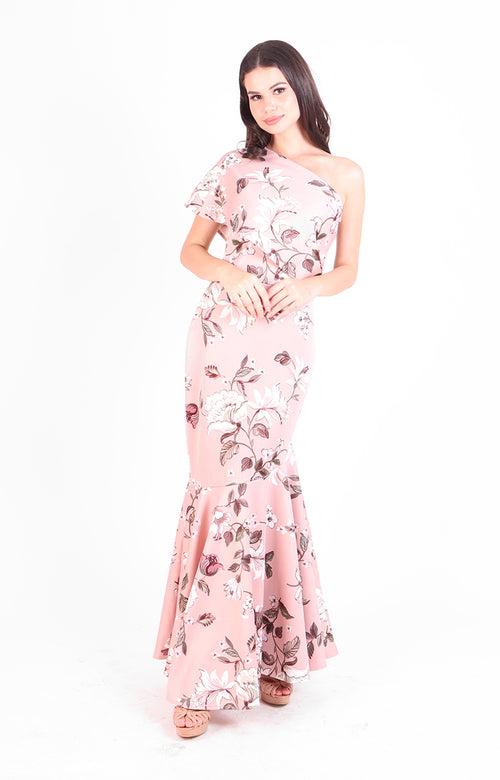 Kaycee Gown in Pink