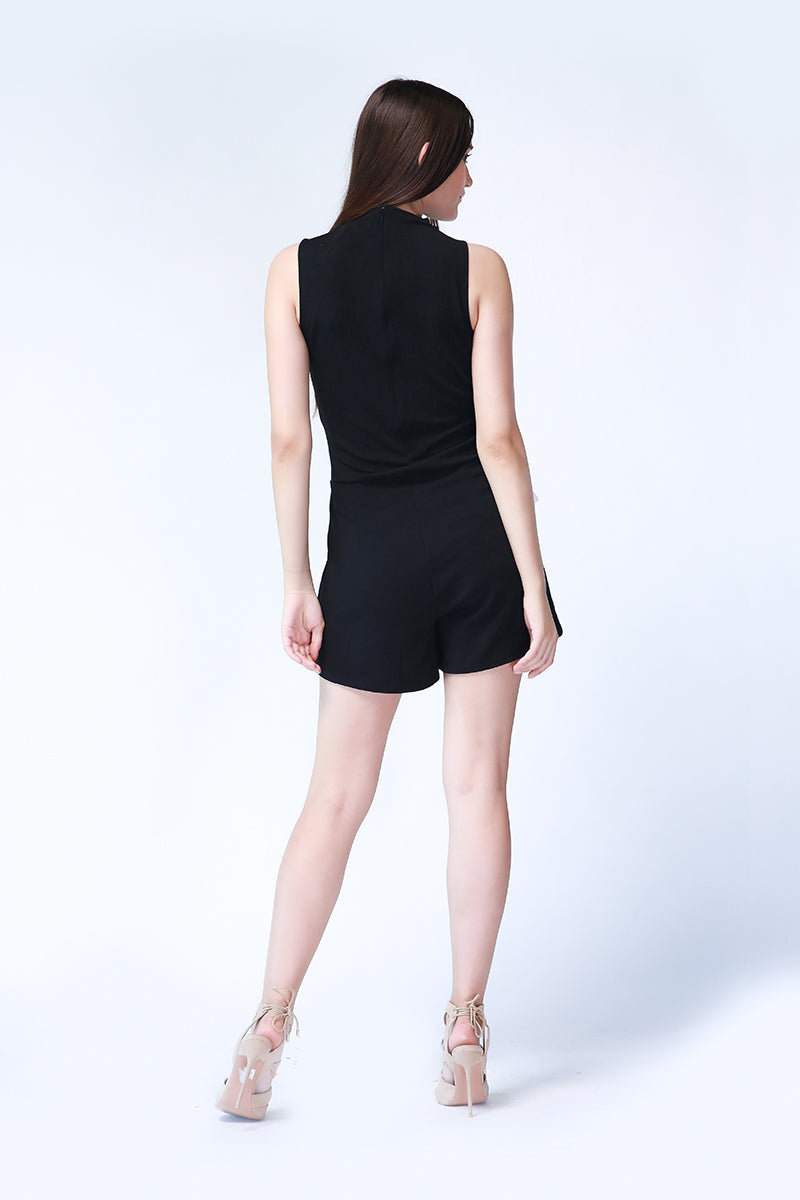 Alexia Playsuit in Black