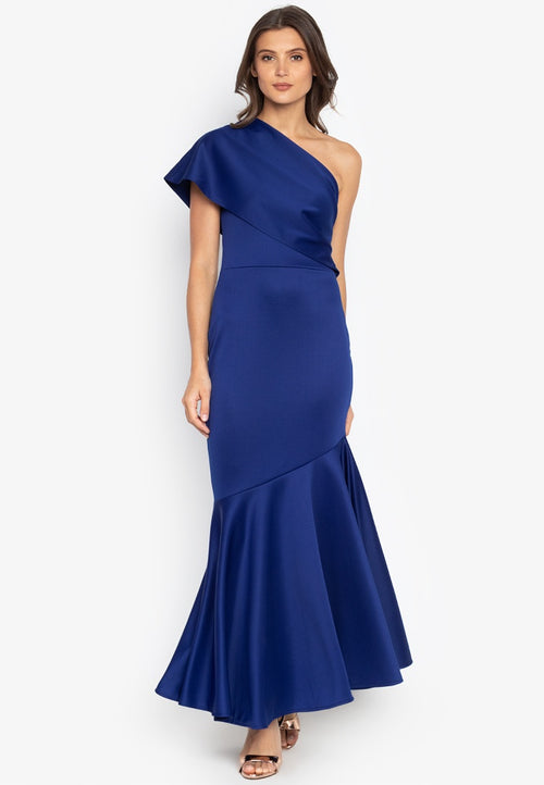 Marian One Shoulder Formal Gown