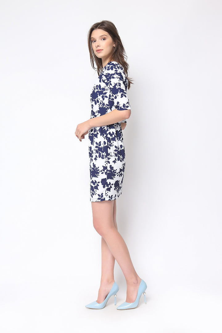 Audrey Dress in Floral Print