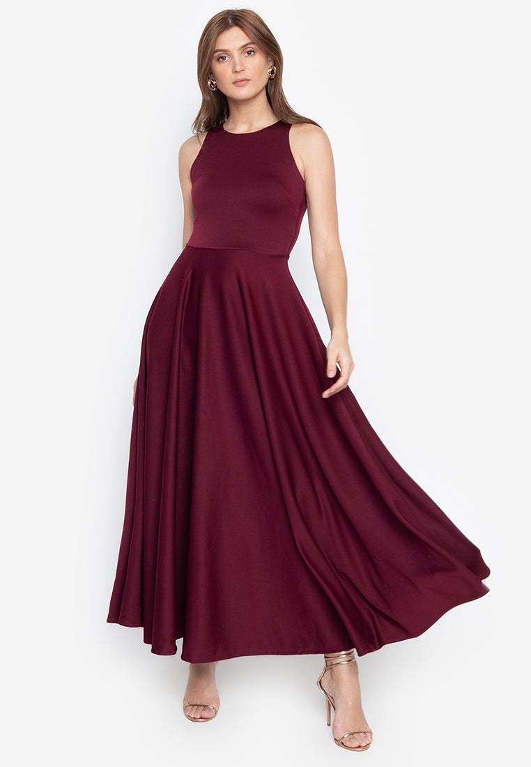Parisienne Halter Formal Gown