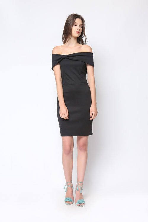 Donatella Dress in Black