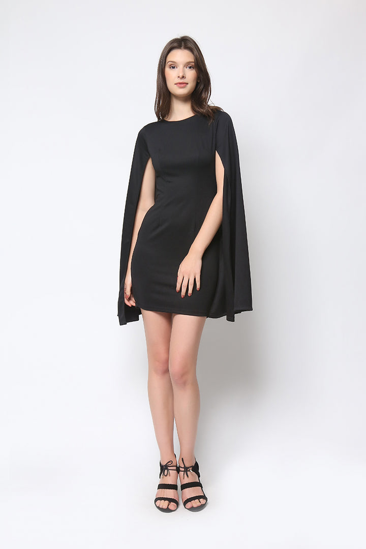 Daria Khaleesi Dress in Black