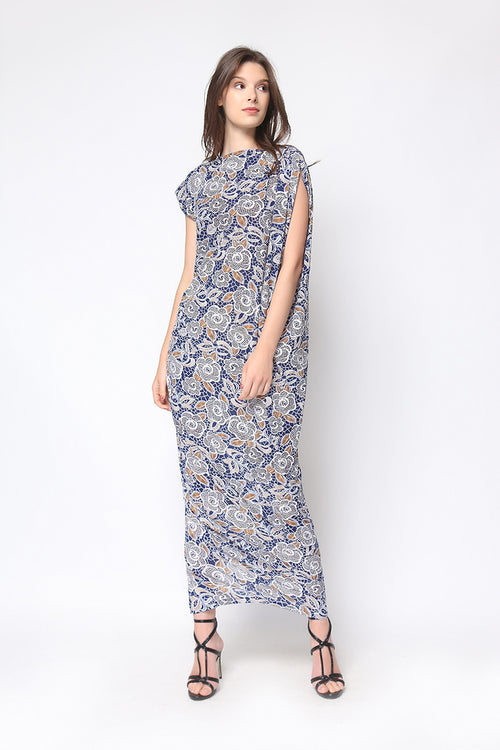 Charlene Maxi Dress in Blue