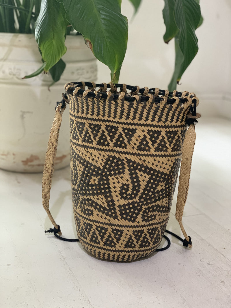 Borneo Bag- Natural and Black