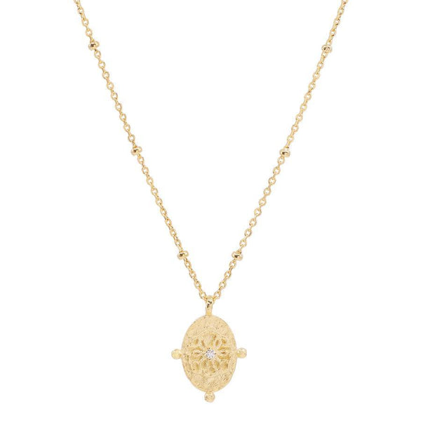 Gold Path of Life Necklace
