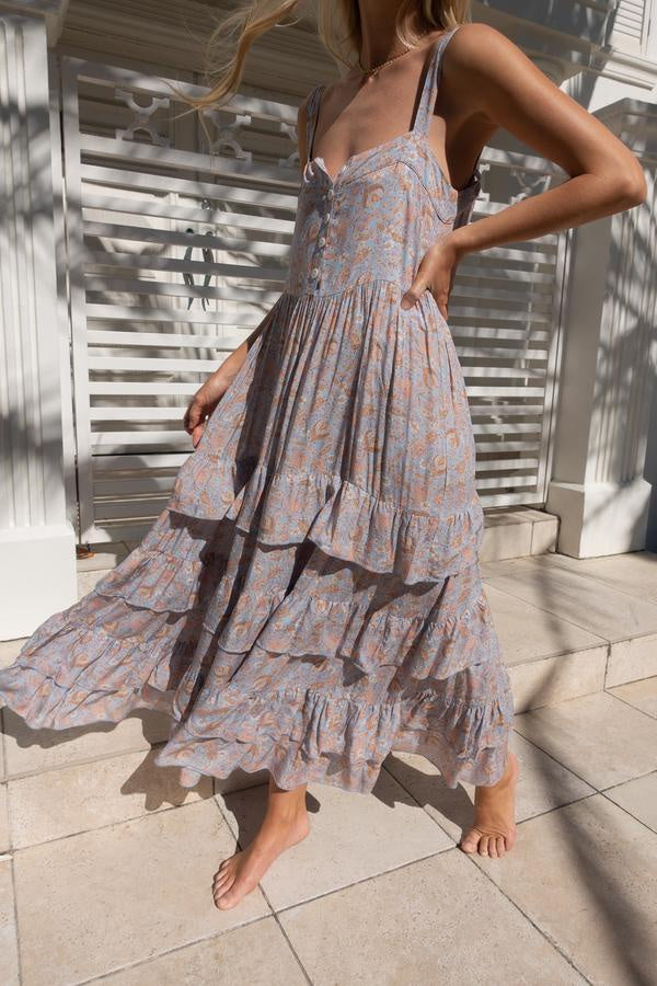Roaming Maxi Dress - Periwinkle