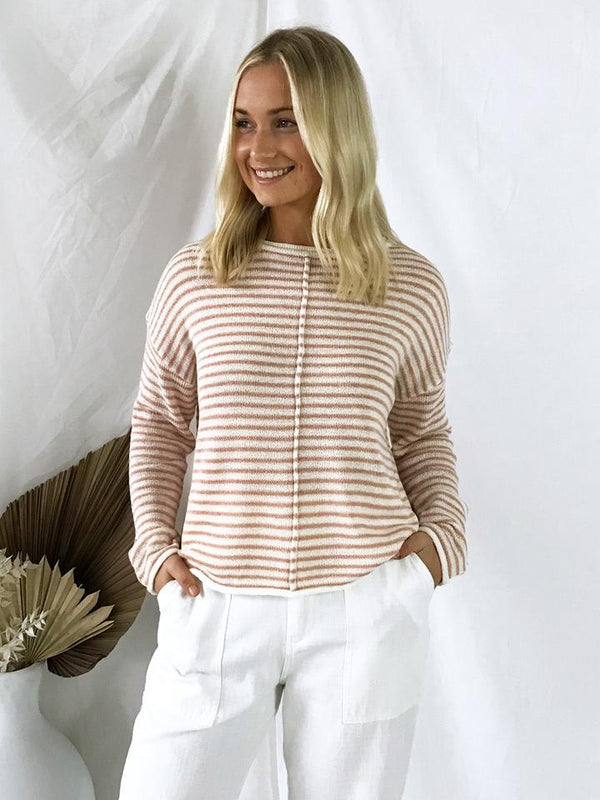 Stripe For Days Knit - Pink