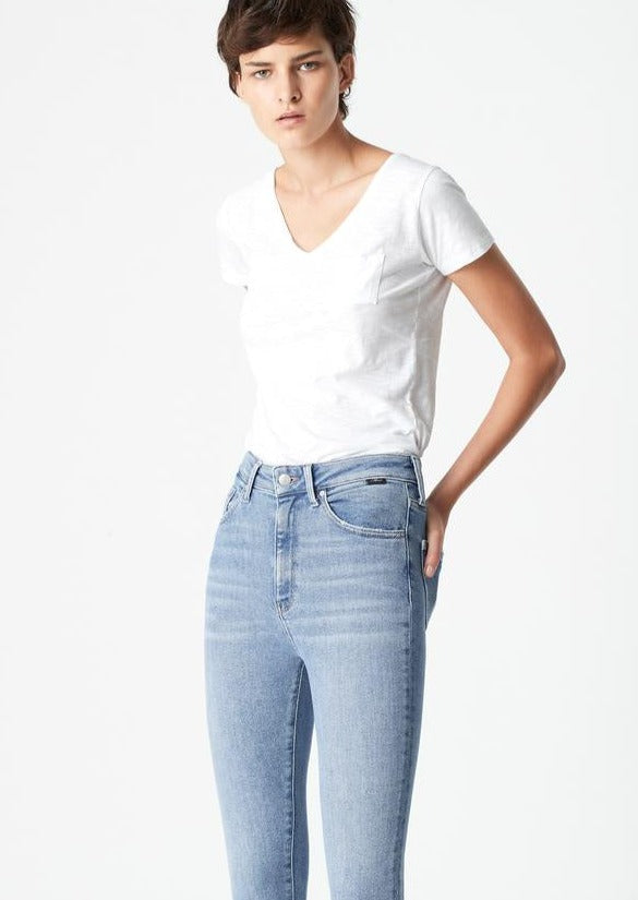 Scarlett Skinny Jeans in Light Shaded LA Vintage