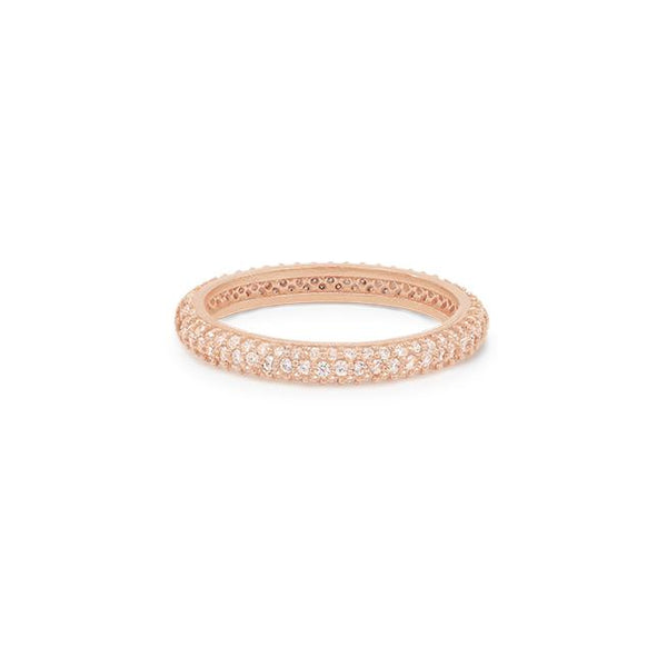 Rose Gold Light Catcher Ring