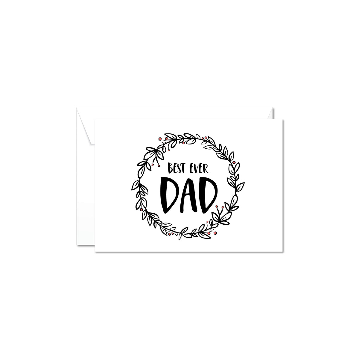Boxsmith NZ Gift boxes & NZ gift hampers for Fathers Day - this monochrome Fathers Day gift card is the perfect accompaniment to your gift for him. Easy delivery NZ wide of our online gifts for him