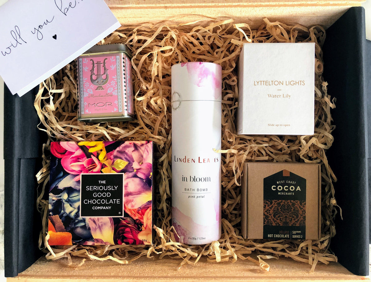 Be My Bridesmaid Gift Box Online Gifts Nz Easy Delivery Nz Wide