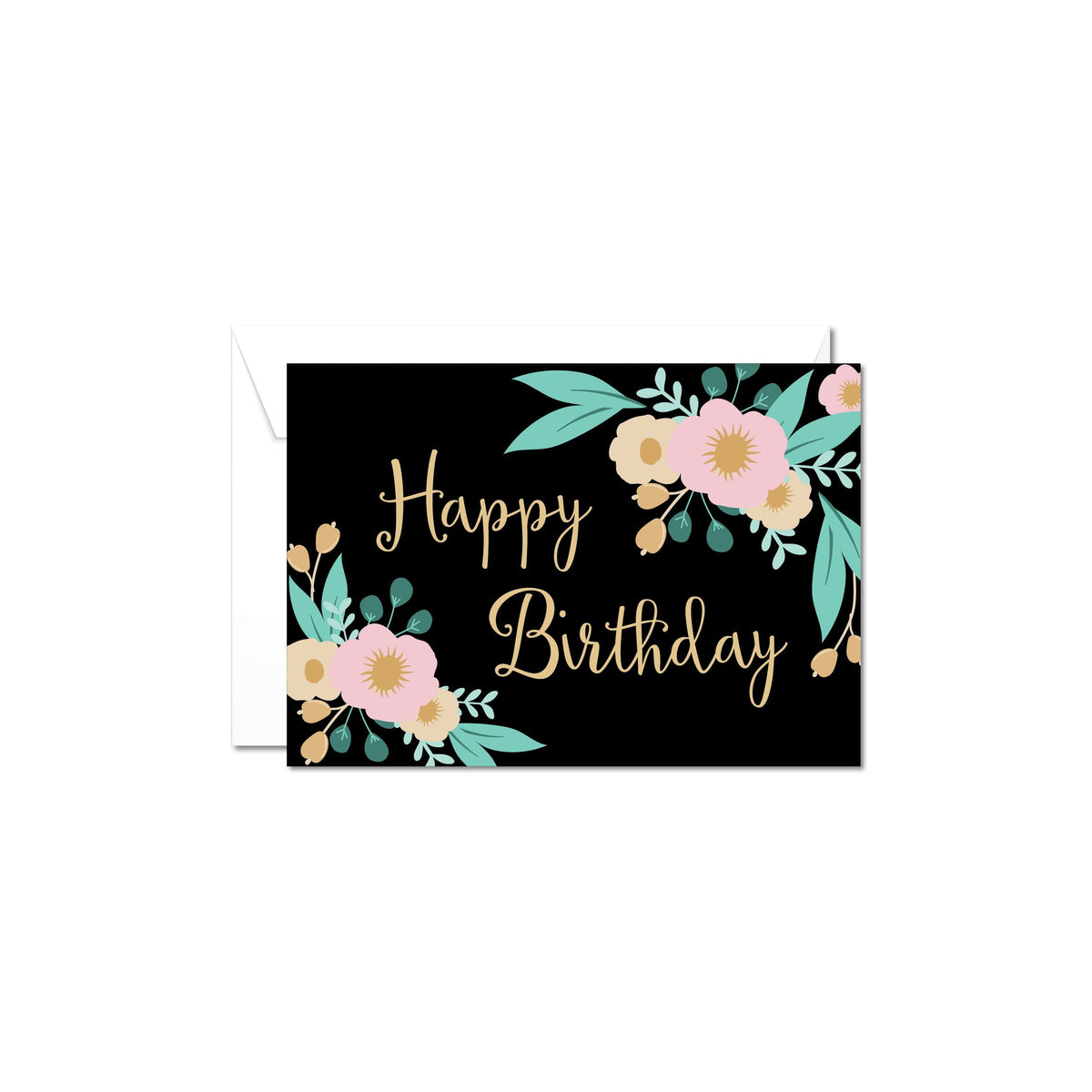 Happy birthday gift card nz online gifts easy delivery nz wide floral happy birthday card a perfect addition to your birthday gift box for her bookmarktalkfo Choice Image