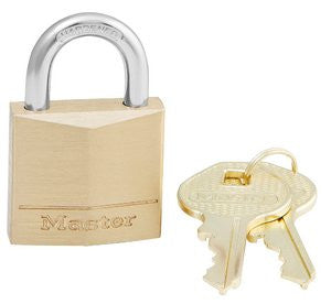 Master Lock Diamond Brass Padlock :130D Lifetime Warranty