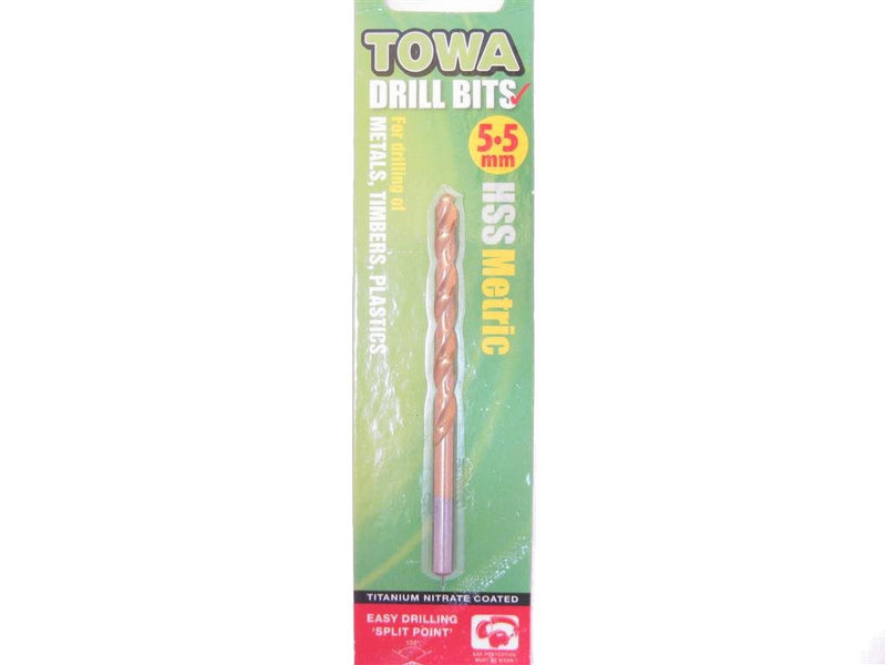 Towa HSS Twist Drill Bit 5.5mm