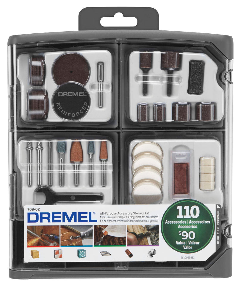 Dremel 110 Piece General Purpose Accessory Kit 709-RW2