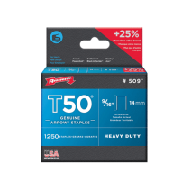 Arrow T50 Staples 14mm (9/16 Inch) Box of 1250