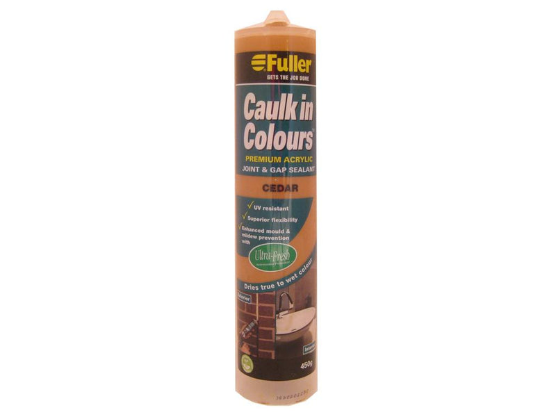 Fuller Cedar Caulk in Colours Sealant 450g