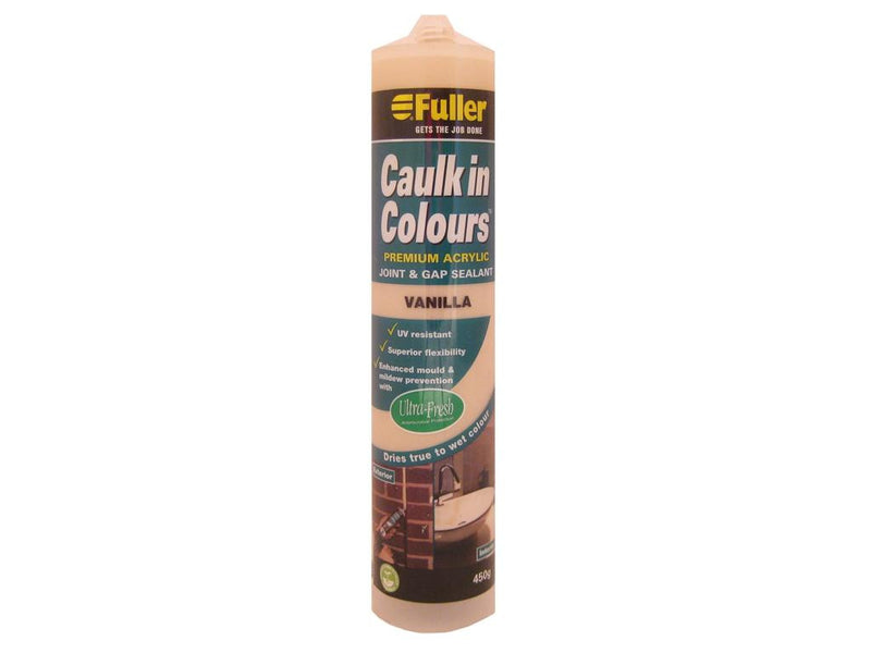 Fuller Vanilla Caulk in Colours Sealant 450g