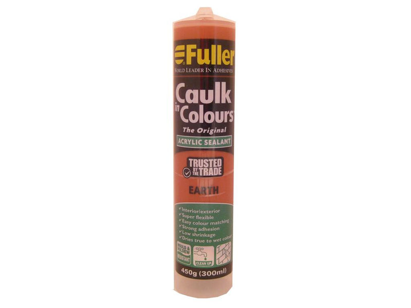 Fuller Earth Caulk in Colours Sealant 450g