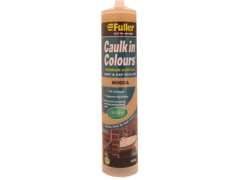 Fuller Mocca Caulk in Colours Sealant 450g